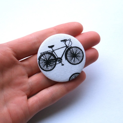 Bicycle Large Fabric Badge