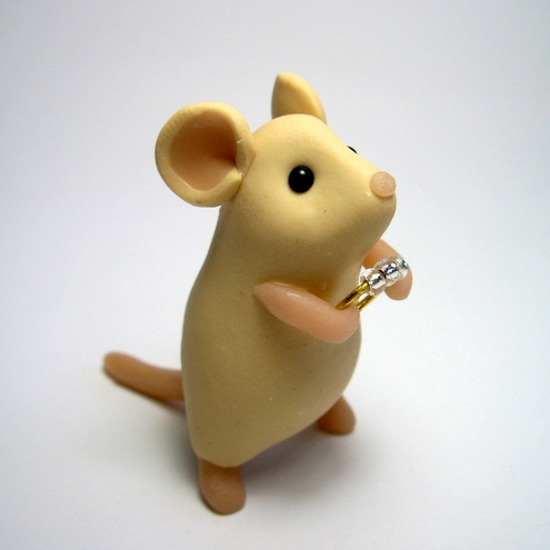 Quernus Crafts - Engagement Ring Mouse