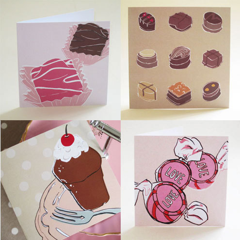 Sweet tooth card pack