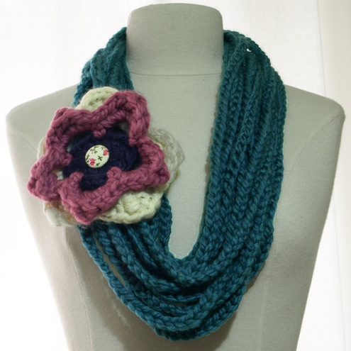Crochet Stitches Scarf