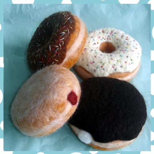 Woolly Duck - Box of Doughnuts