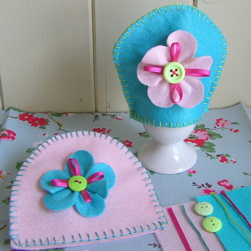 Craft Ideas  Felt on Easy Craft Kit   Felt Egg Cosies