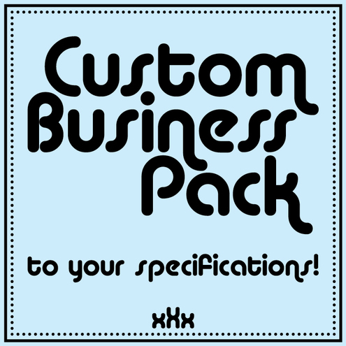 Custom Business Pack £30.00
