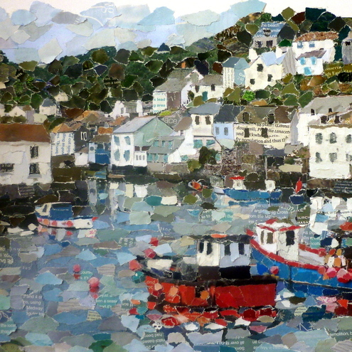 Kirsty Elson Designs Polperro collage