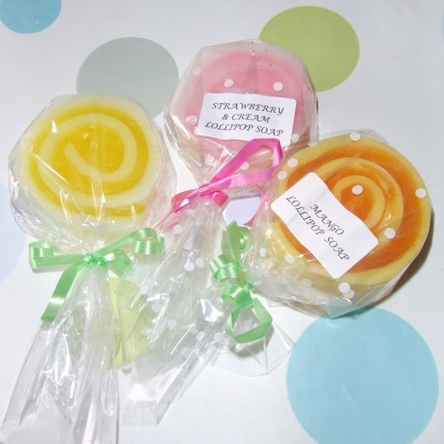 Just Bev Soaps-Lollipop Soap