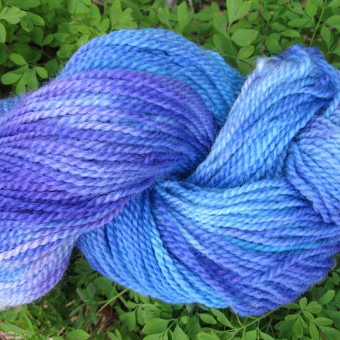 Hand dyed Sussex dk yarn