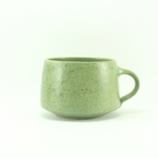 Green mug from jml pottery
