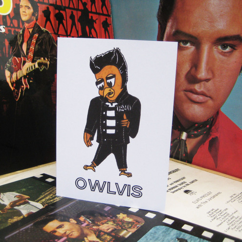 Elvis Presley greetings card