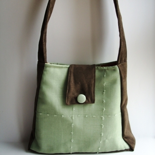 Not Just Handbags - Chocolate Lime Bag