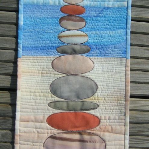 Pebble Stack Quilted Wall Hanging Kit