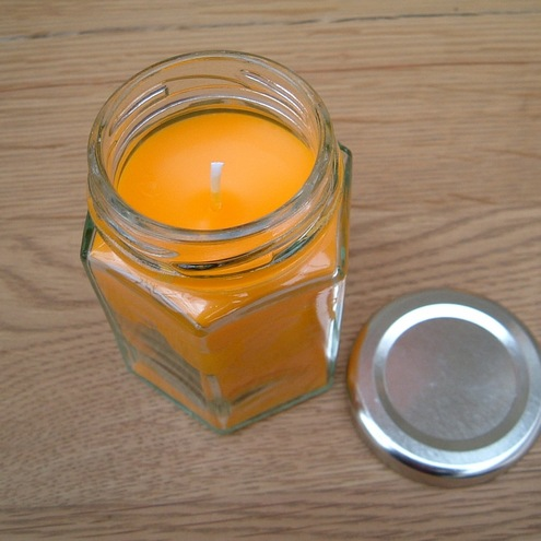 Handmade Bramley Cards And More -   Aromatherapy Citronella Candle In A Jar