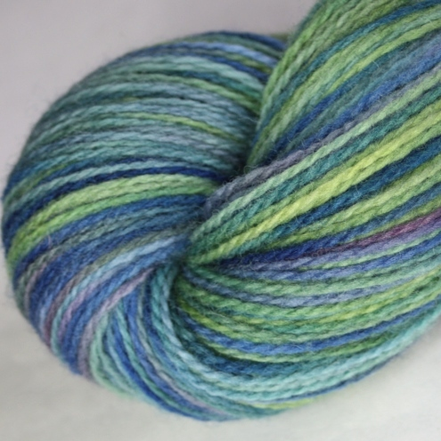 Abstract Cat Crafts - Loch  Indaal - sportweight merino yarn