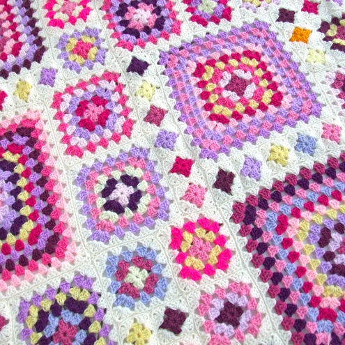 Crochet Granny Square Pattern : Crochet Hookers: Crochet Granny Square Patterns