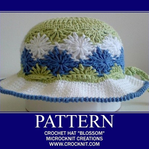How to Crochet a Basic Brimmed Hat Sized for Toddlers- with Self