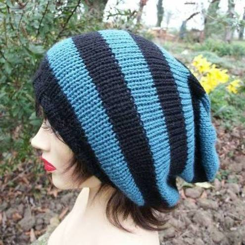 Free Knitting Patterns For Beanie Hats, Free Knitting Patterns For