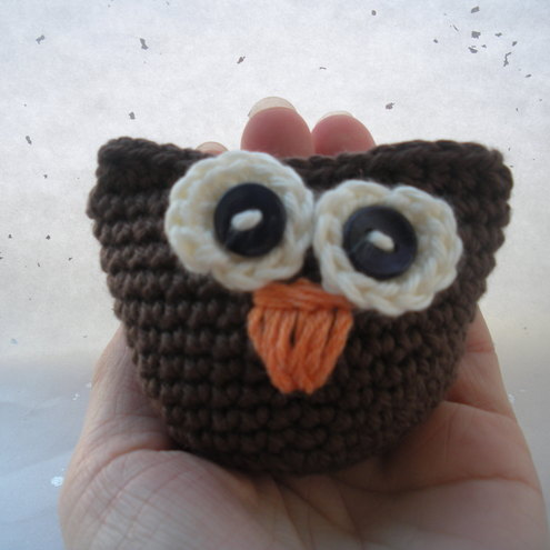 chocolate brwon owl