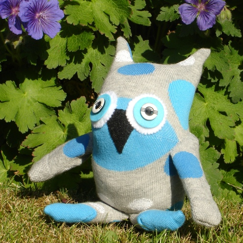 Percy pear see sock owl