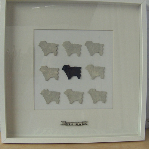 Bread and Butter, Black Sheep Box Frame £45