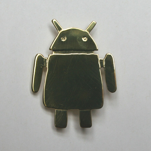 Hollowbourne - android brooch