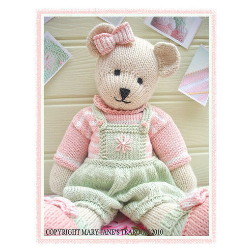 Free Knitting Patterns Stuffed Toys : TEDDY BEAR CLOTHES KNITTING PATTERNS FREE PATTERNS