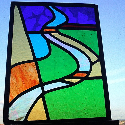 Leaded Stained Glass. This leaded stained glass
