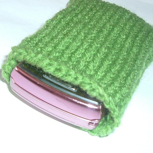 Green Phone Cozy £10.00