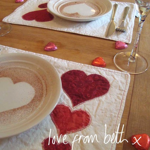 Pair of Placemats, £12.50, love from Beth x