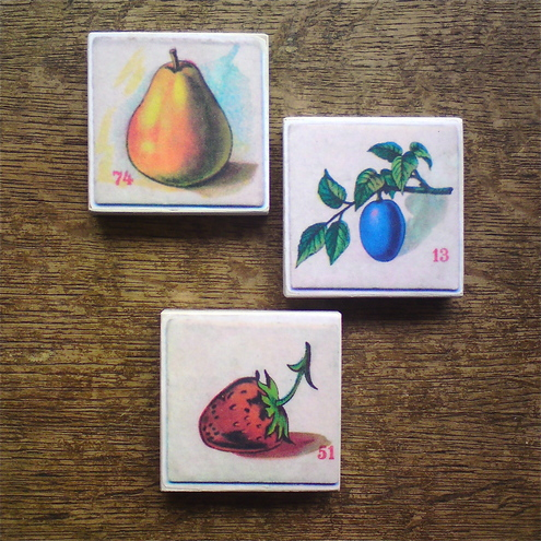 fruit fridge magnets