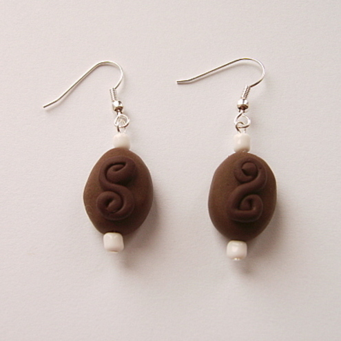 The Chocolate Box - Dark Chocolate Earrings