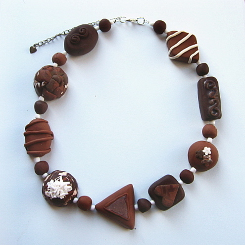 The Chocolate Box - Chocolate Necklace