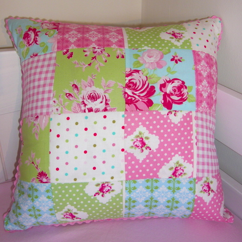 Gloriously Girly Cushion £15.00