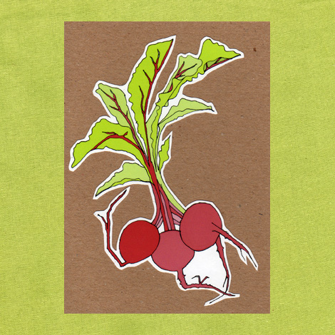 beetroot seed card £3.50