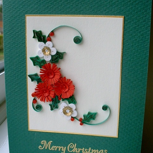 My christmas tree paper quilling circles and dots and for How to make your own quilling paper