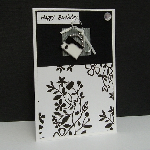 Adien Crafts, card sold in aid of Macmillan Cancer (Buteartism) £1.75