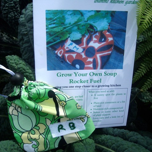 Grow Your Own Soup - Rocket Fuel