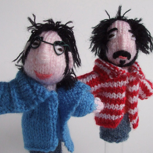 Ding Dong Designs - Flight Of The Conchords Finger Puppets