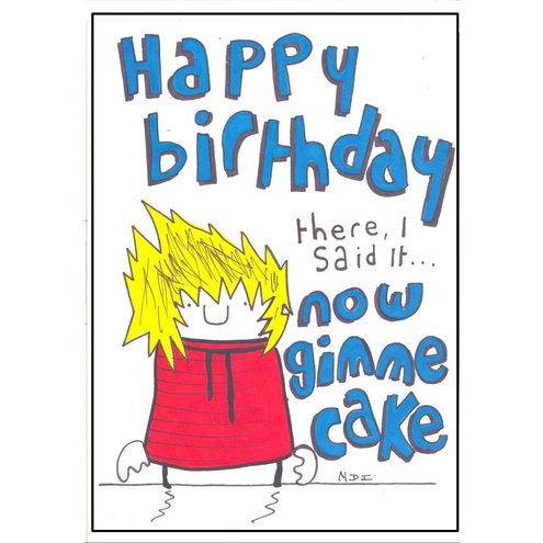 Humorous birthday cards with names for ANY birthday