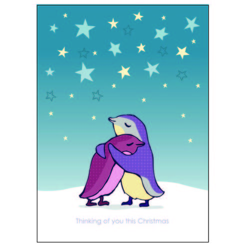 Creative And Faithful: A lonely Christmas ~ A Comforting Card