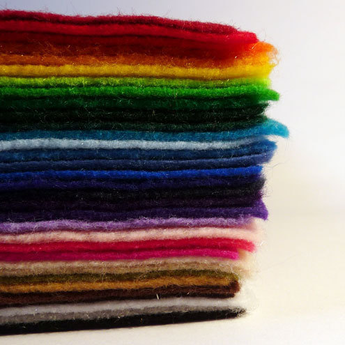 Eco-fi felt from The Felted Rainbow