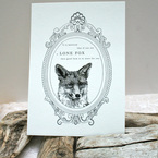 The Lone Fox Print from Old Wives Tale