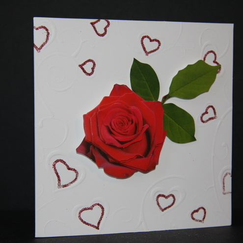 rose card by box of delights