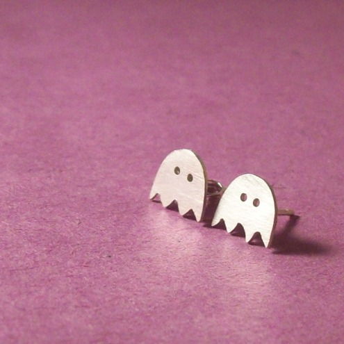 Little ghost earrings, by Emma Louise Originals