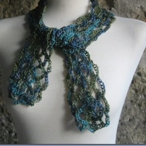 luna lovegood skinny scarf *Pattern Added* - CROCHET