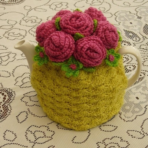 Free Easy Tea Cosy Crochet Pattern : Folksy :: Buy