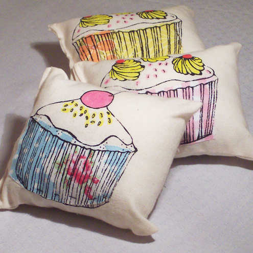 Rosita Handmade Lavender, sweet orange and cinnamon scented cushions