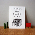 No Place Like Home gocco print by HelloJenuine
