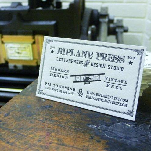 biplane press and design