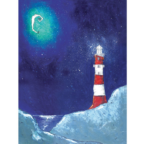 Zoe Sadler - Lighthouse Moon print