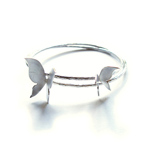 Akino Jewellery - Butterfly Bangle