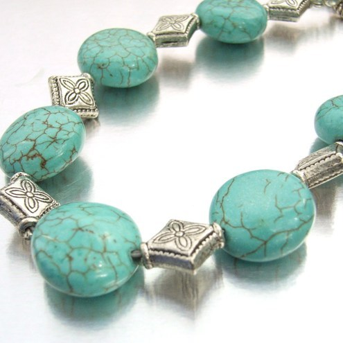 turquoise bracelet by Blue Forest Jewellery